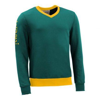 Pullover mit V-Ausschnitt_fairtrade_petrol_OTB4Y9_front