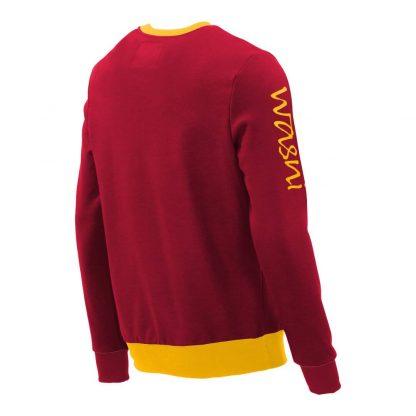 Pullover mit V-Ausschnitt_fairtrade_rot_CIAGYI_rueck