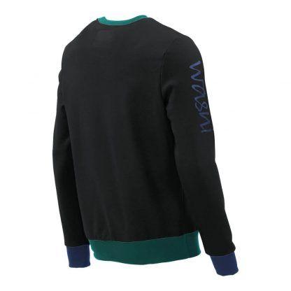 Pullover mit V-Ausschnitt_fairtrade_schwarz_DRUHPI_rueck