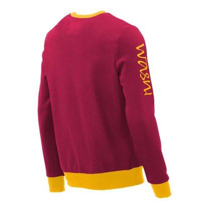 Pullover mit V-Ausschnitt_fairtrade_weinrot_R5T0RA_rueck