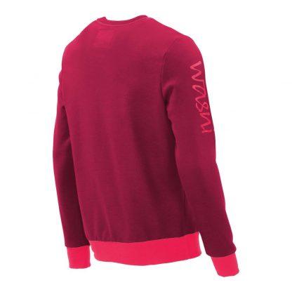 Pullover mit V-Ausschnitt_fairtrade_weinrot_SA2HT3_rueck