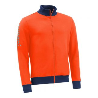 Stehkragenjacke_fairtrade_orange_Q6I1QR_front