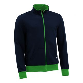 Sweatjacke_fairtrade_blau_53B4U3_front