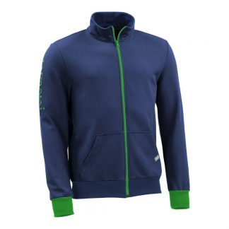 Sweatjacke_fairtrade_blau_UESVSB_front