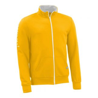 Sweatjacke_fairtrade_gelb_A0320U_front