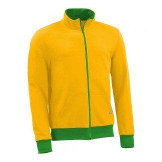Sweatjacke_fairtrade_gelb_ZBFAH8_front