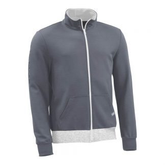Sweatjacke_fairtrade_grau_XPK6D0_front