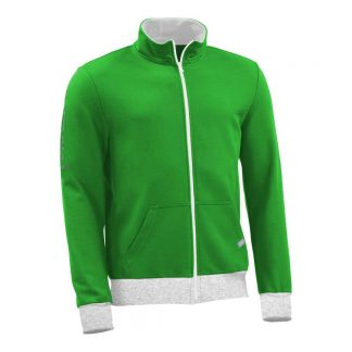Sweatjacke_fairtrade_gruen_B6D992_front