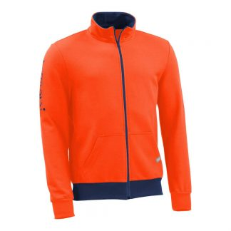 Sweatjacke_fairtrade_orange_YNCHJ6_front