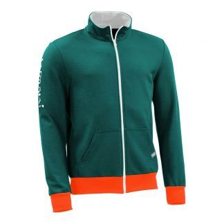 Sweatjacke_fairtrade_petrol_3CZY9A_front