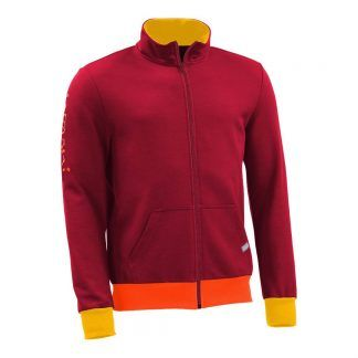 Sweatjacke_fairtrade_rot_3WBTVI_front