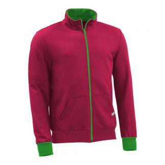 Sweatjacke_fairtrade_weinrot_PD1PQ1_front