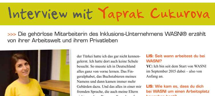 Interview mit Yaprak