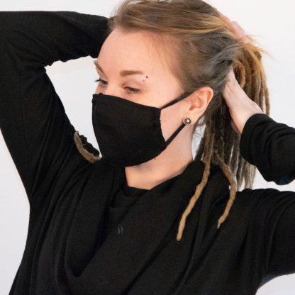 Mund- und Nasenmaske Bio-Baumwolle