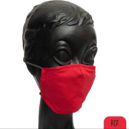 Mundnasenschutz rot