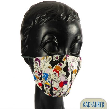 peppige Mundnasenmaske, Biobaumwolle