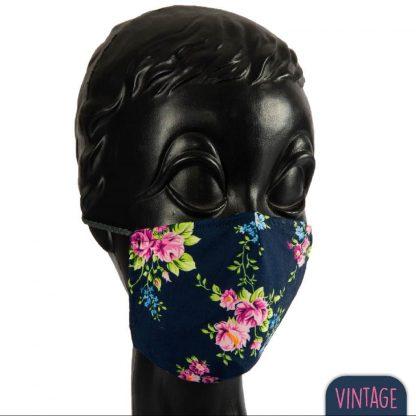 modische Mundmaske, Biobaumwolle