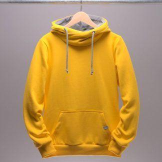 frauen-hoodie-gelb
