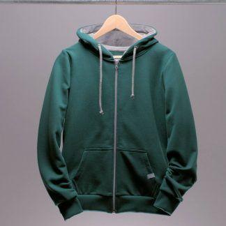 hoodie-jacke-frauen-petrol