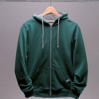 hoodie-jacke-maenner-petrol