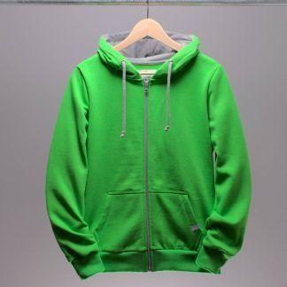 hoodie-jacke-frauen-gruen