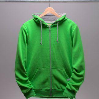 hoodie-jacken-maenner-gruen