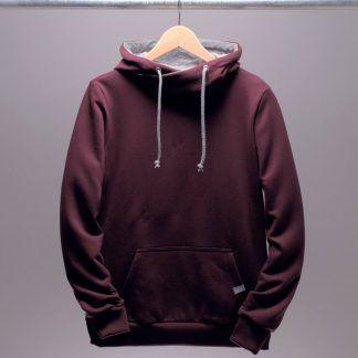 hoodie-kapuzenpullover-frauen-bordeaux