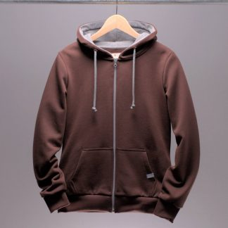 hoodie-mit-reissverschluss-frauen-braun