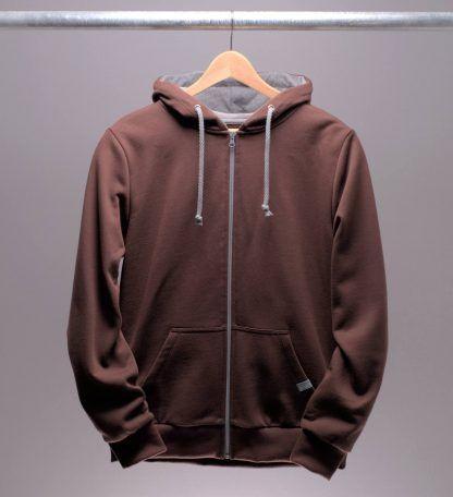 hoodie-mit-reissverschluss-maenner-braun