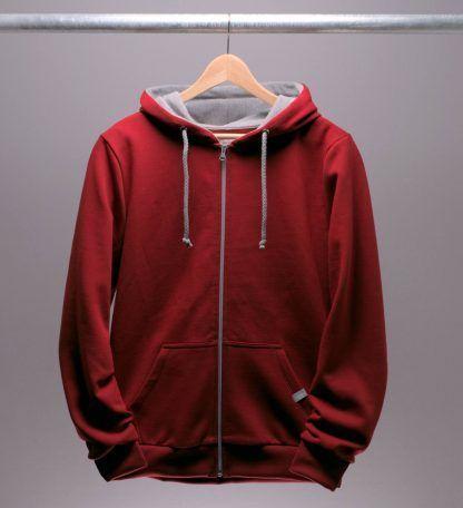 kapuzenjacke-sweatshirt-maenner-rot-chili