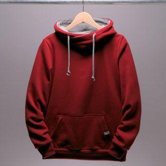 roter-hoodie-frauen-chili-rot