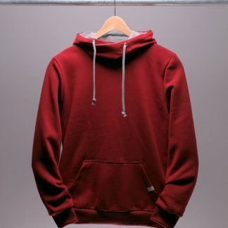 roter-hoodie-maenner-chili-rot