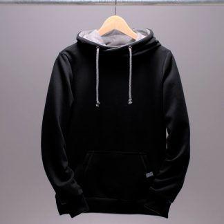 schwarzer hoodie frauen